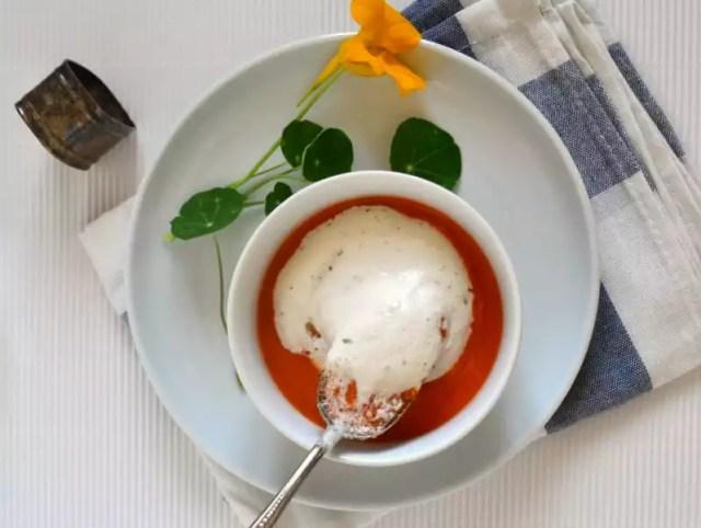 Tomaten-Paprikasuppe