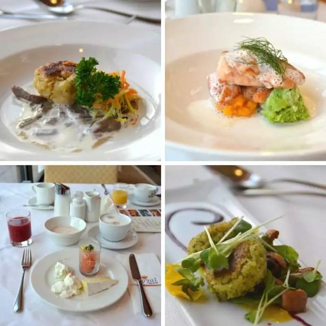 Bio zertifiziertes Menü im Hotel Royal inm Eurothermenresort Bad Ischl