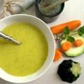 Pürierte Zucchini Karotten Suppe