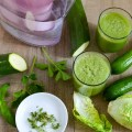 Grüne Smoothies aus Gemüse