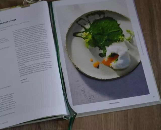 Die Jahreszeiten Kochschule Frühling, Seiser Rauch, pochiertes Ei