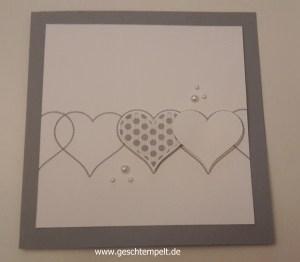 Stampin up, Wedding ,Hochzeit, Invitation, Einladung, Herzklopfen