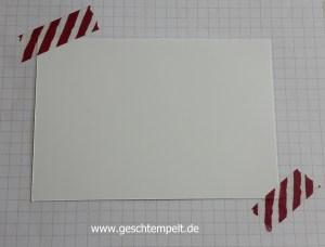 Stampin up, Spektrum Stampin Technique, Anleitung in Bildern, Tutorial, Christbaumfestival