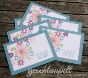Stampin up, durch die Blume, für Lieblingsmenschen, Love & Affection, Blooms & Wishes