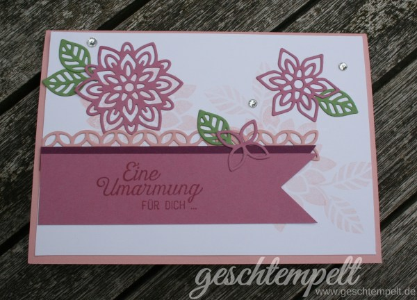 Stampin up, Blühende Worte, Blütenpoesie, Flourishing Phrases, Flourish