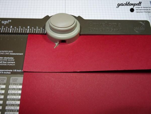Stampin up, Punch Board, Sterne, Weihnachten, Christmas, Stars, Anleitung, Tutorial