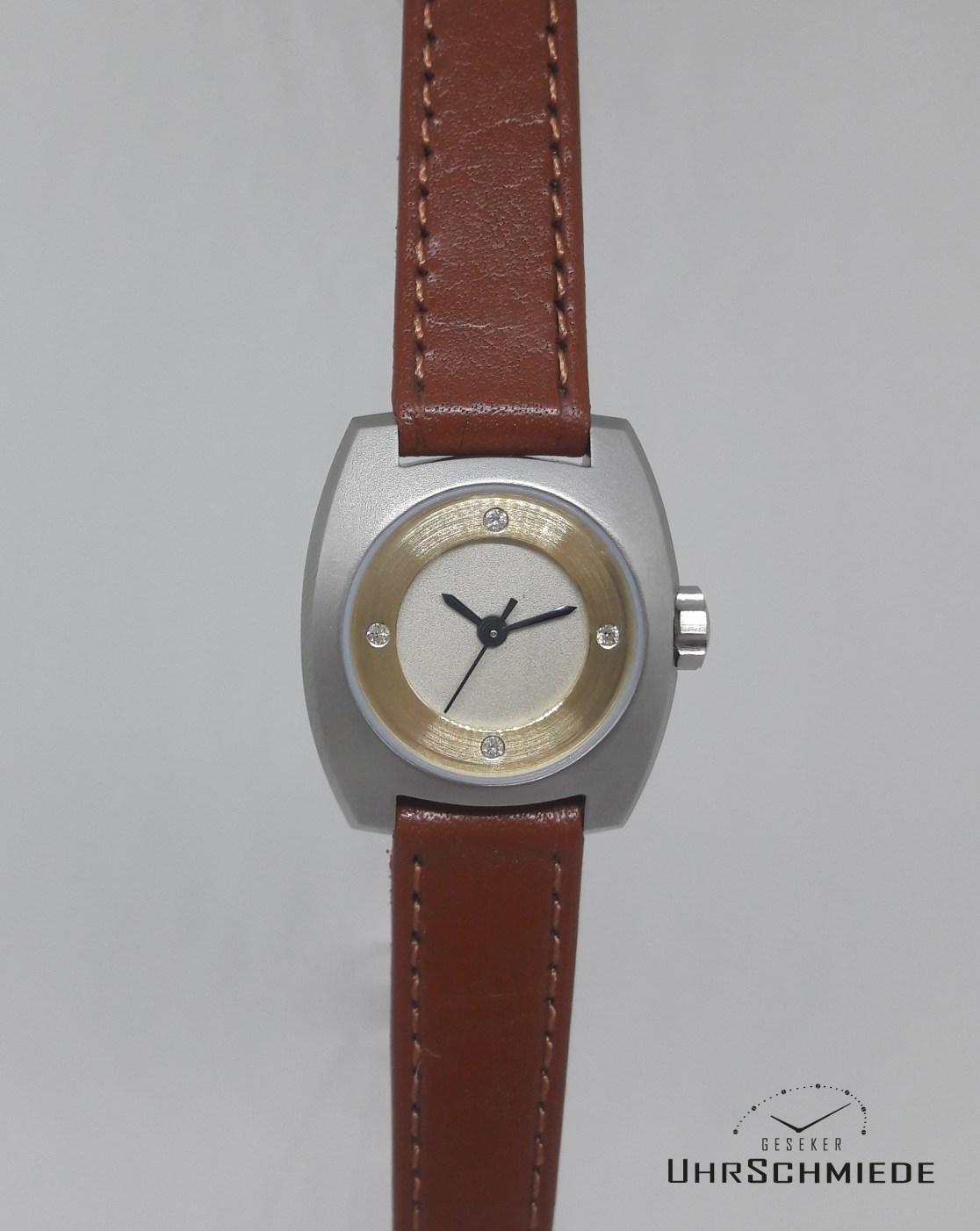 Brillanten besetzte Damen Uhr