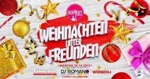 Weihnachten unter Freunden • Montag 25.Dezember • 2 floors @ Herbert Club & Disco | Kamenz | Germany