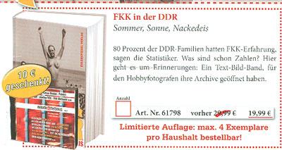 Ausriss Melodie & Rhythums - FKK in der DDR