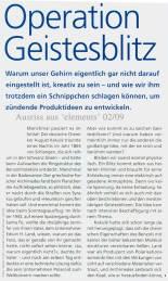 Ausriss Zeitschrift elements 02.09