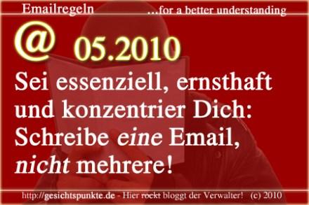 Emailregeln 05.2010