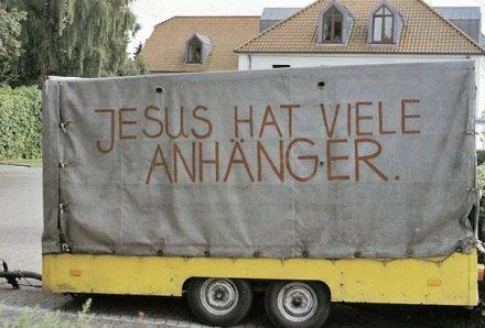 Foto: Jesus hat viele Anhänger (Quelle: Privatarchiv)