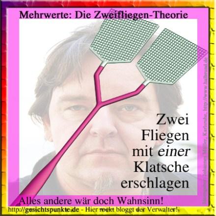 Die Zwei-Fliegen-Theorie