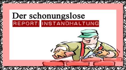 Banner Report: Instandhaltung