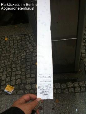Parktickets (long version) @Abgeordnetenhaus
