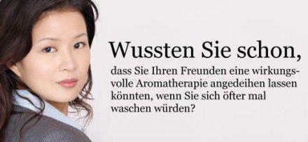 Wussten Sie schon, Aromatherapie! (quelle: sheng-fui.de)