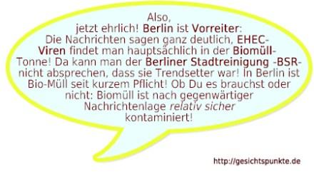 Berlin ist Vorreiter: Biomüll!