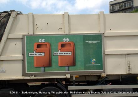 Stadtreinigung Hamburg: Wir geben dem Müll einen Korb!
