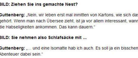 Isomattenumzug (© BILD Zeitung)