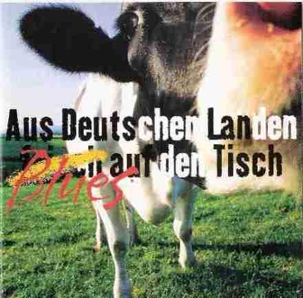 Aus deutschen Landen, frisch auf den Tisch (Blues), CD-Cover