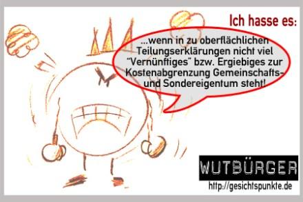 Wutbürger 02.2011 #Kostentragungspflichten