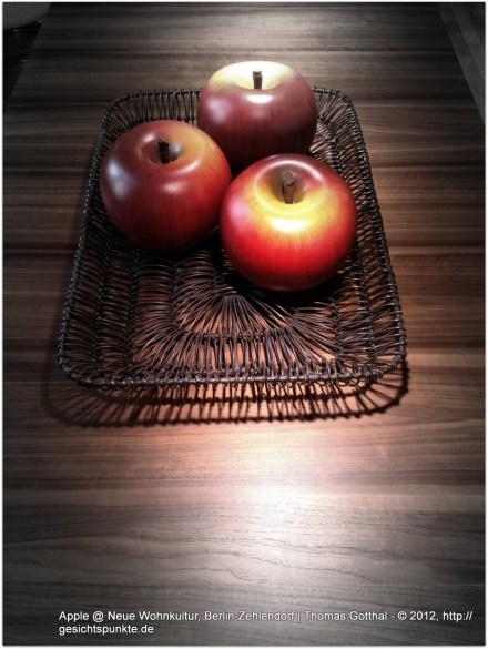 Apple @ Neue Wohnkultur, Berlin-Zehlendorf