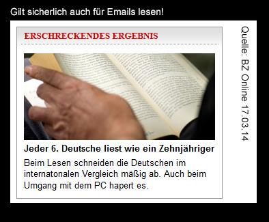 Deutsche.lesen.schlecht