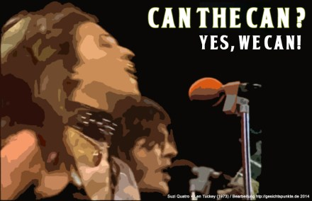 Can The Can - Suzi Quatro (Bildbearbeitung https://gesichtspunkte.de)