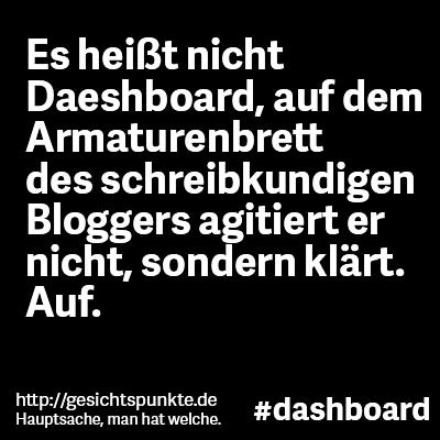 #Dashboard #Daeshboard