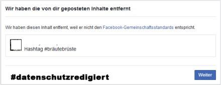 Facebook, Gemeinschaftsstandards #Serie