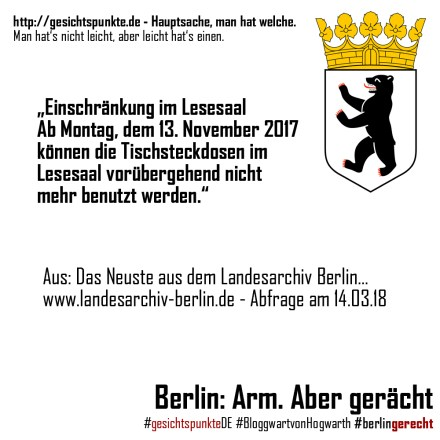Berlin: Arm. Aber gerächt. - #Landesarchiv