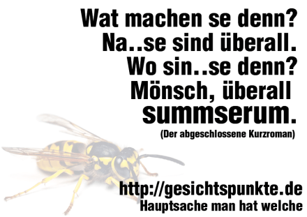 Überall summserum #Wespen (Quelle: https://wallscover.com/yellowjacket.html)