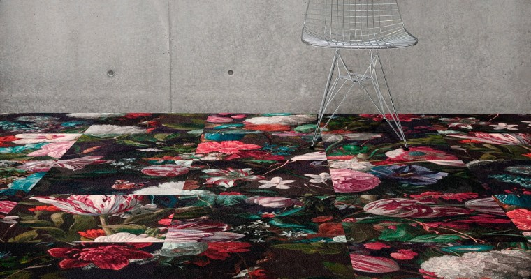 Münchner Stoff Frühling 2020: OBJECT CARPET shows the colourful variety of its FORUM and RUGX carpets