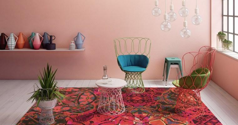 Gute-Laune-Teppiche: RUGXSTYLE-Designs von OBJECT CARPET heben mit bunten Kolorits und verspielten Mustern die Stimmung