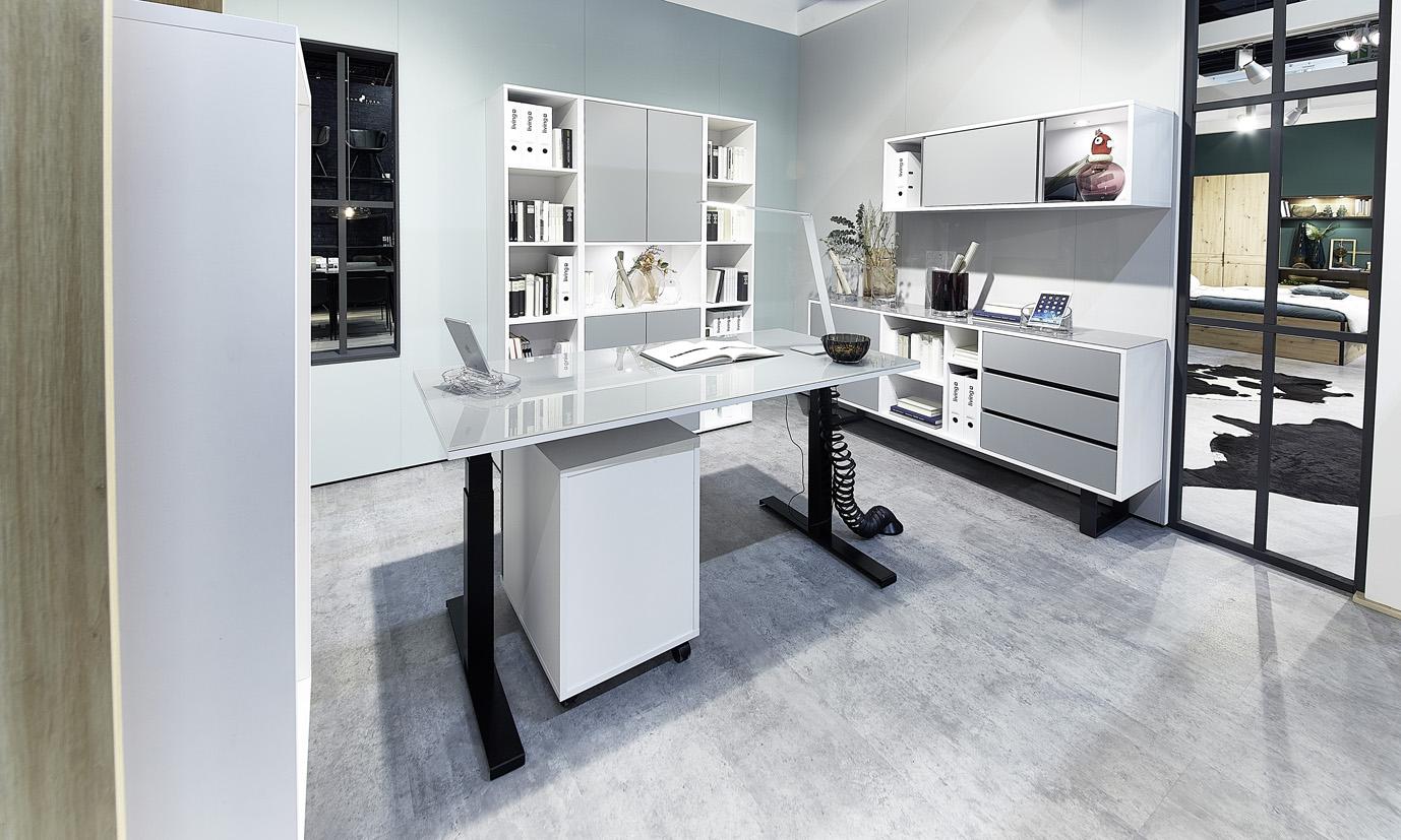 Ein Home-Office mit System