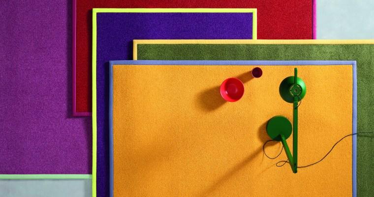 In the mood for colour – OBJECT CARPET bringt Farbe zum Wohlfühlen ins Wohnzimmer
