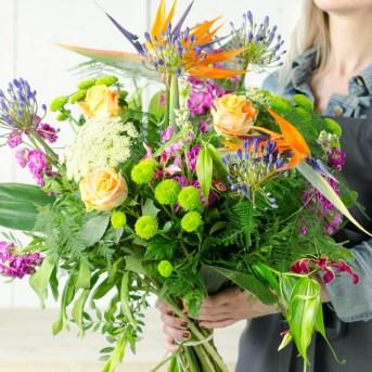 Geslaagd bloemen 9