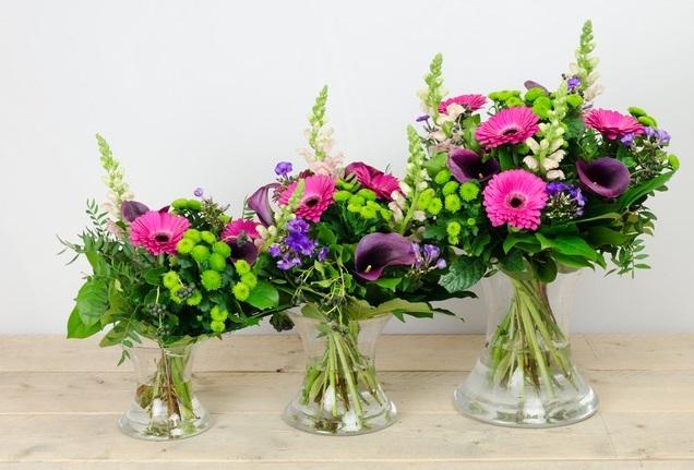 Geslaagd bloemen