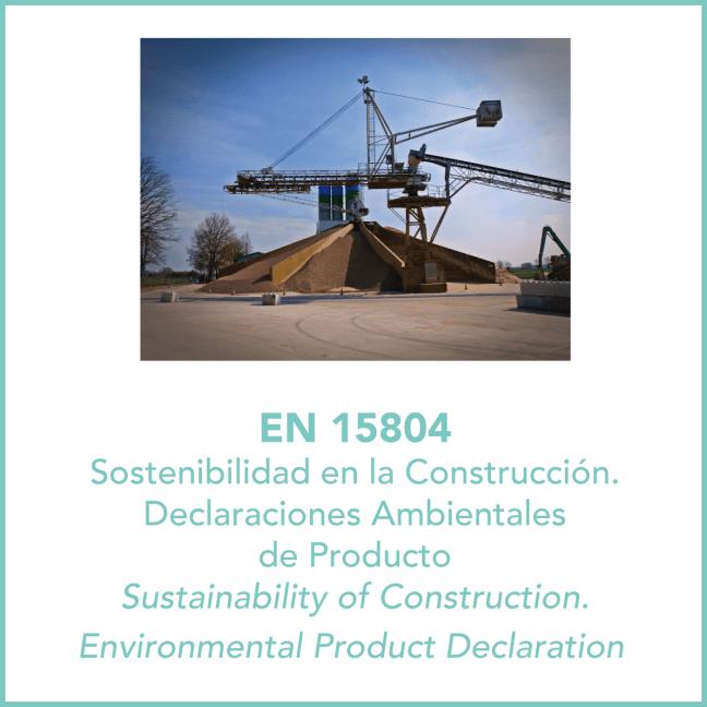 Sostenibilidad Construcción EN15804 1