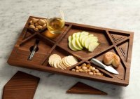 Puzzle Wooden Tray by Materious Design Studio