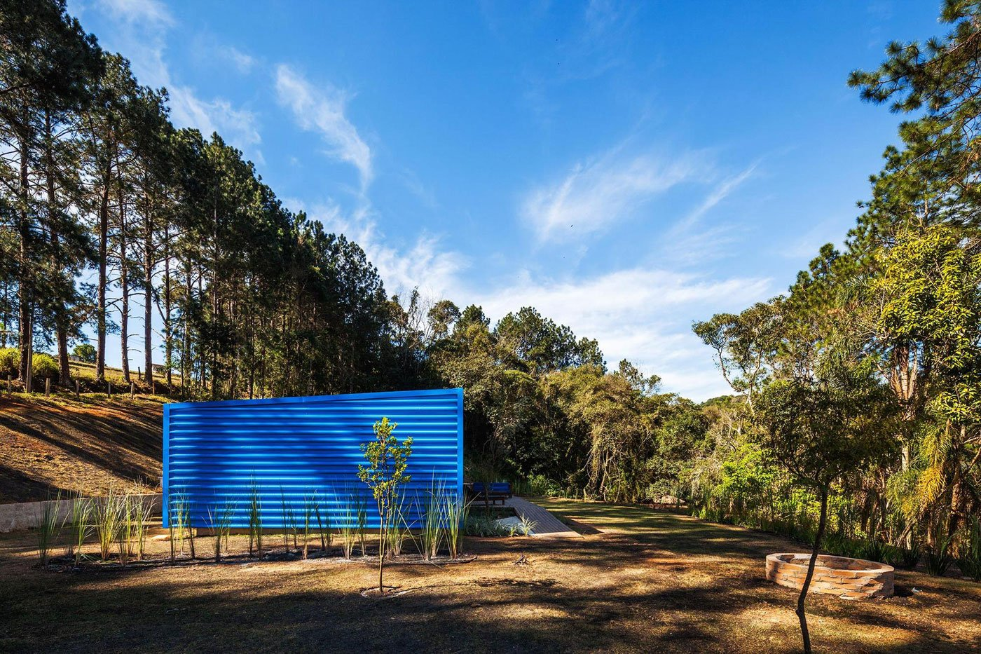 Tiny Summer Home Clad in Blue
