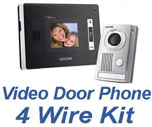 Video Door Phone 4 Wire Kit