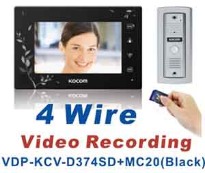 4 Wire Video Recording