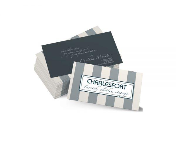 Charlesfort business card