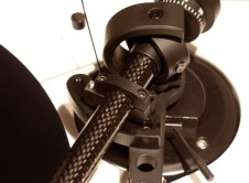 Oracle Paris Tonearm at angle