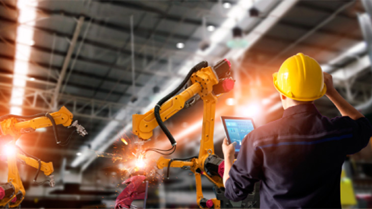 Robótica versus trabalho manual engenheiros