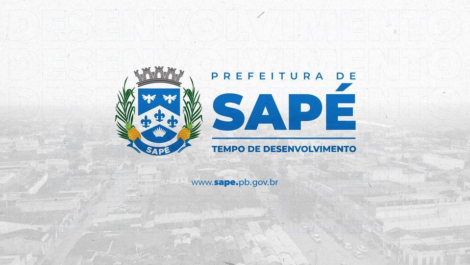 Brasão do município de Sapé é modificado sem amparo legal e usado como padrão de propaganda institucional