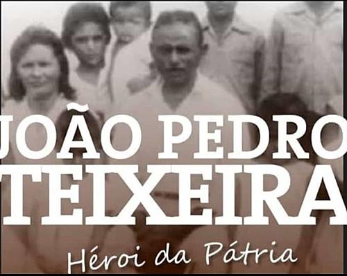 Em 02 de abril de 1962 era assassinado em Sapé o líder camponês João Pedro Teixeira