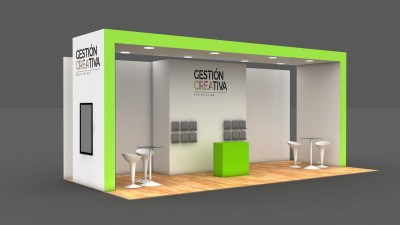 STAND 9 X 4 MTS