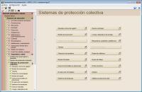Estudio de Seguridad y Salud. Sistemas de protección colectiva
